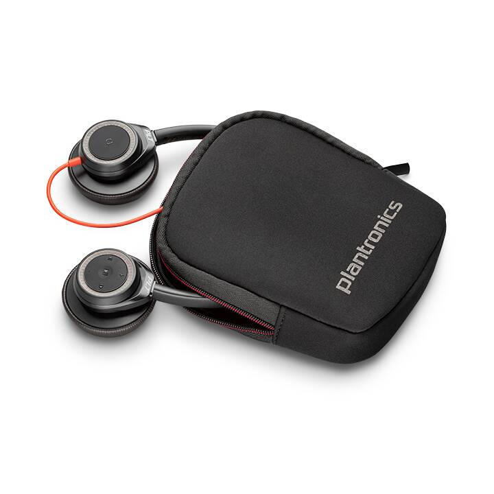 PLANTRONICS Blackwire 7225 (On-Ear, Noir, Rouge)