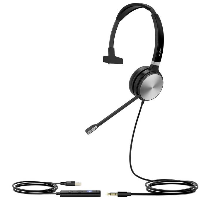 YEALINK NETWORK TECHNOLOGY UH36M  (On-Ear, Noir)