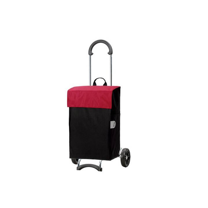 ANDERSEN Trolley per la spesa (44 l, Rosso, Nero)