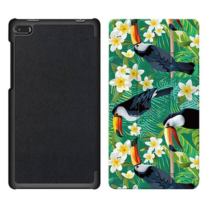 """EG MTT Tablet Tasche mit faltbarer Abdeckung für Lenovo Tab 7 Essential 7 """"- Bird"""
