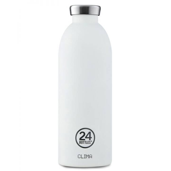 24BOTTLES Bottiglia sottovuoto Clima Ice White (0.85 l, Bianco)