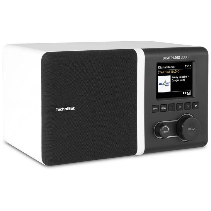 TECHNISAT DigitRadio 300 C Radio pour cuisine / -salle de bain (Blanc)