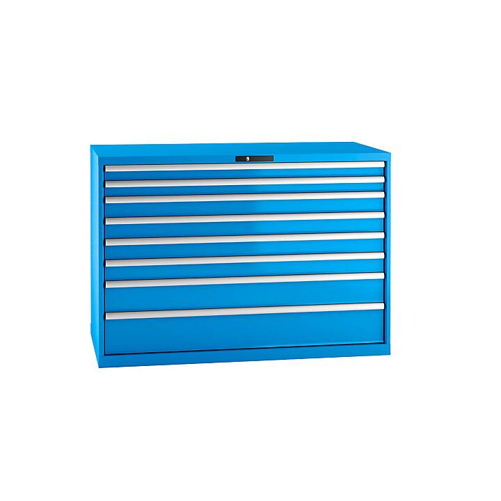 LISTA Tiroir armoire (Bleu)