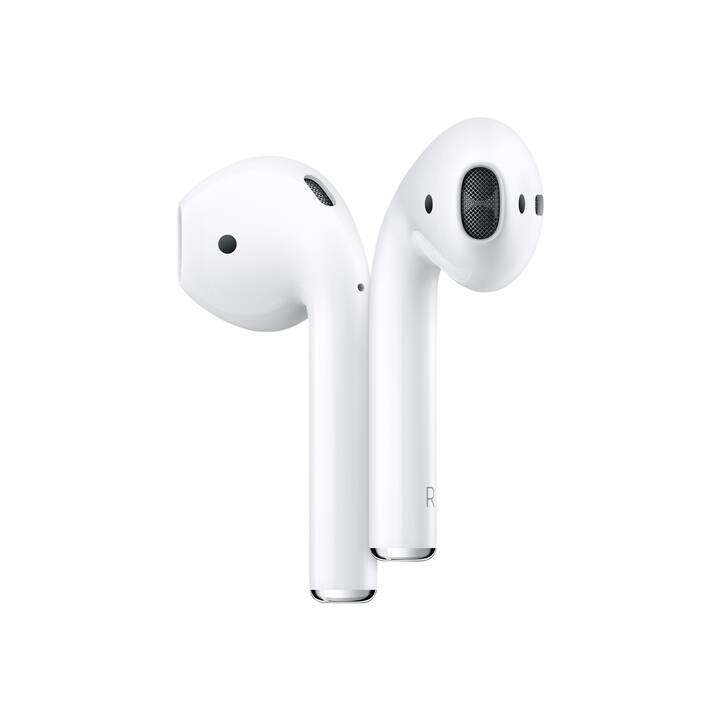 APPLE AirPods Qi 2nd Gen. (In-Ear, Bluetooth, Blanc)