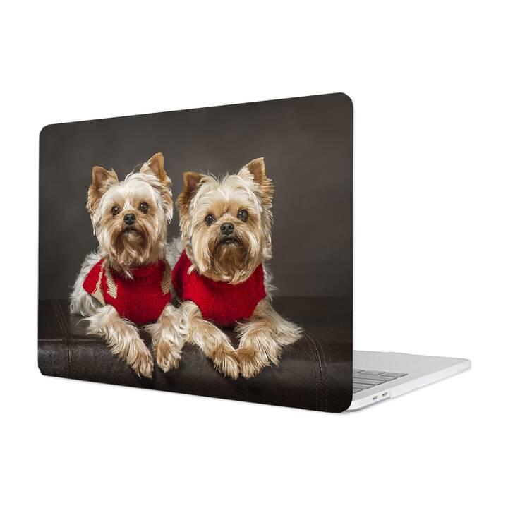 "EG MTT Housse pour Macbook Pro 13"" Not Touchbar (2016 - 2018) - Chien"