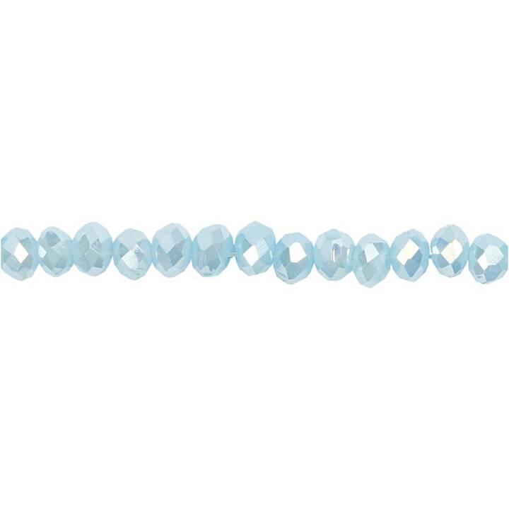 Creativ Company Glasschliffperlen blau h