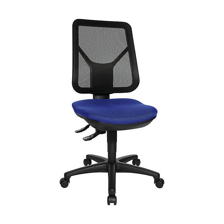 TOPSTAR Bürostuhl (Blau, Schwarz, Graphite Black)