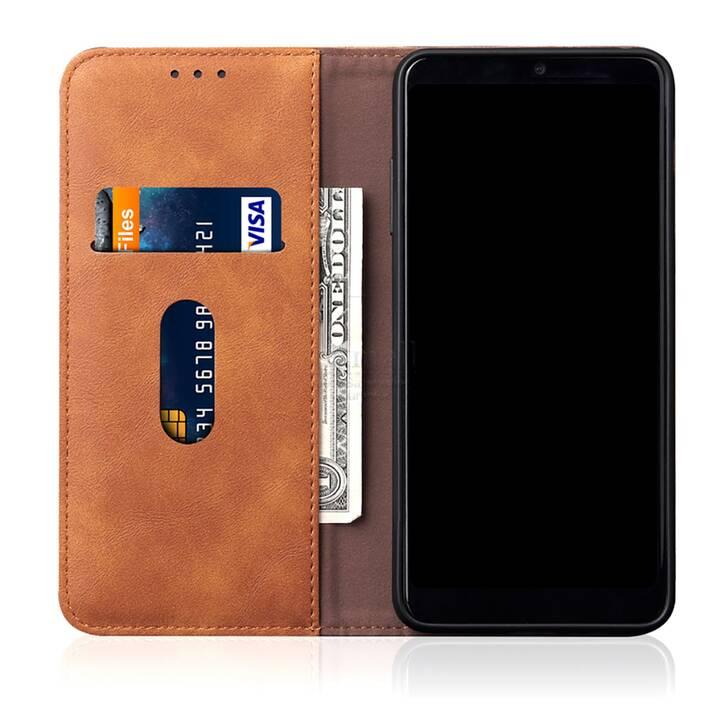 """EG Mornrise custodia a portafoglio per Samsung Galaxy S20 Ultra 6.9"""" 2020 - marrone chiaro"""