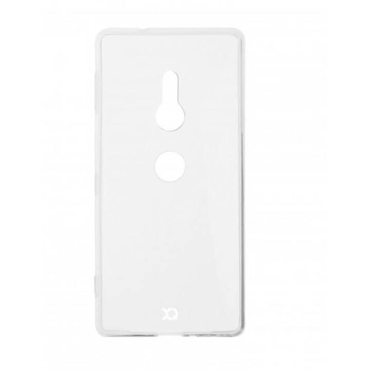 XQISIT Backcover Flex Case  (Xperia XZ3, Transparent)