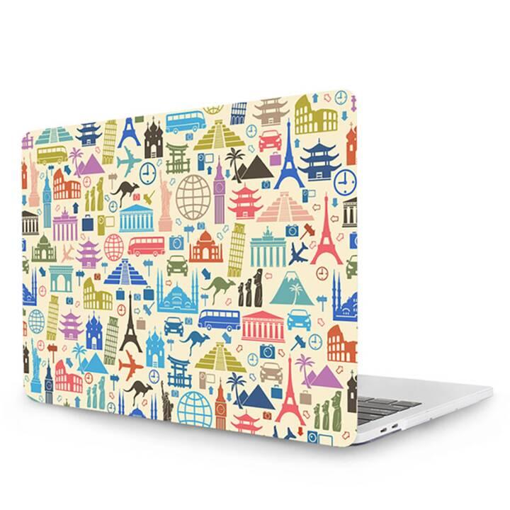 """EG MTT Cover pour MacBook Pro 13"""" CD ROM - Travel"""