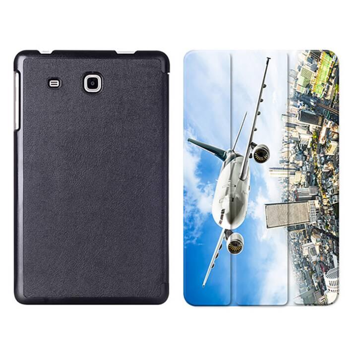 "EG MTT Tablet Bag con coperchio pieghevole Smart per Samsung Galaxy Tab A6 7 ""A6 Tablet A6 - Airplane"