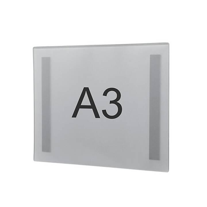MAGNETOPLAN Cartellina trasparente (Transparente, A3, 2 pezzo)