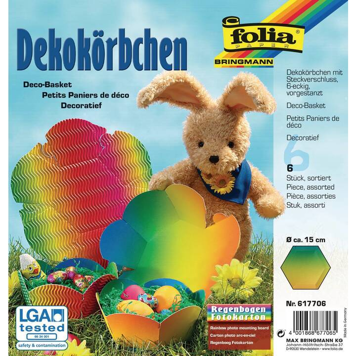 FOLIA Nid de Pâques (Multicolore, 6 pièce)