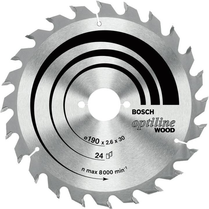 BOSCH Sägeblatt Optiline Wood (190 mm)