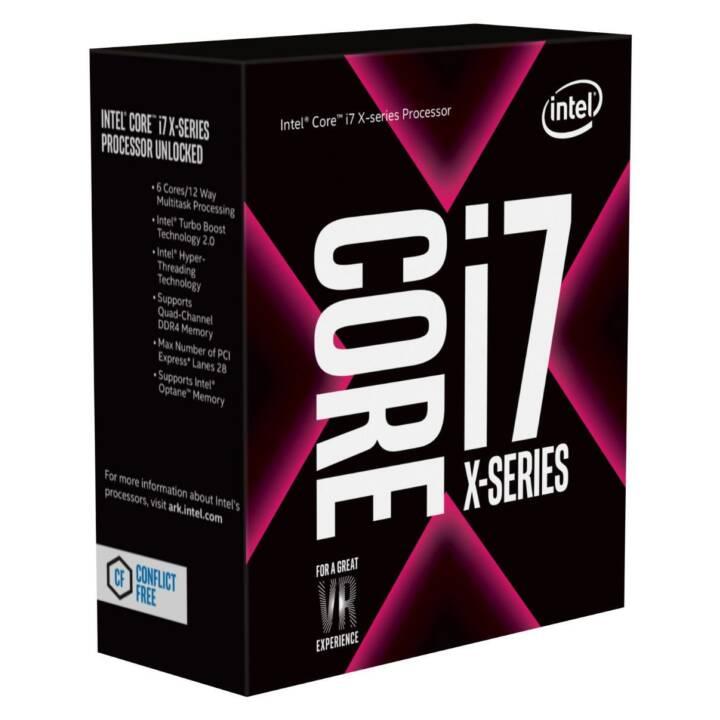 Intel Core i7 9800X X-series / 3.8 GHz processeur
