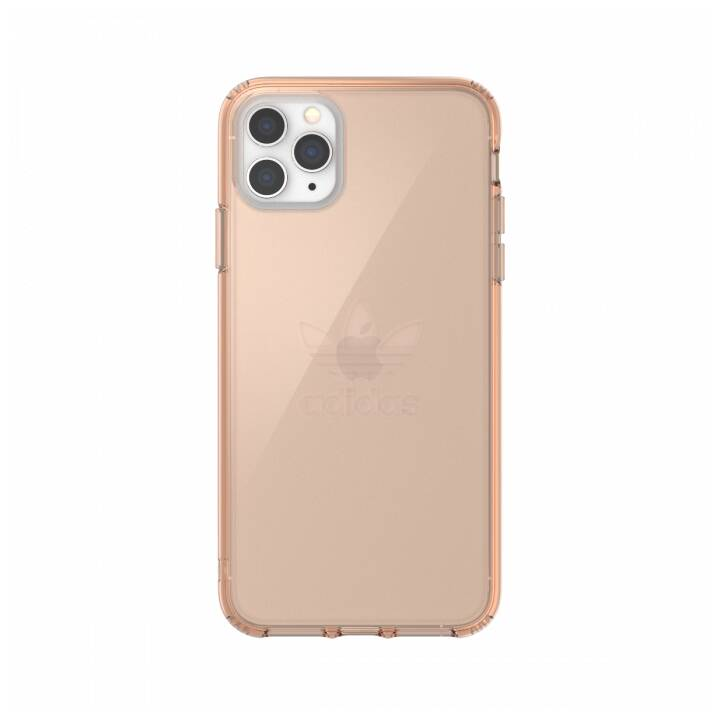 ADIDAS Backcover Protective Clear (iPhone 11 Pro Max, Roségold)