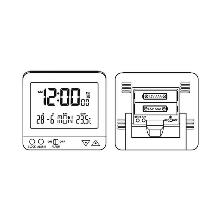 HAMA RC 550 (Nero, Sveglia divertente)