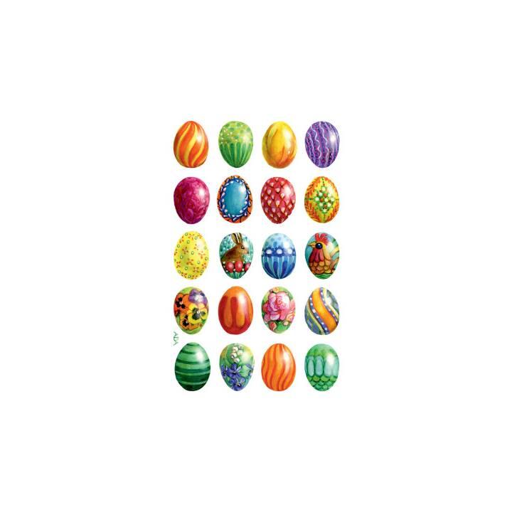 Sticker Z-DESIGN motif Pâques 3 pièces