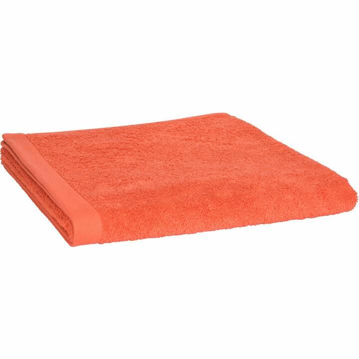 LIVIQUE Badetuch Diana (70 cm x 140 cm, Orange)