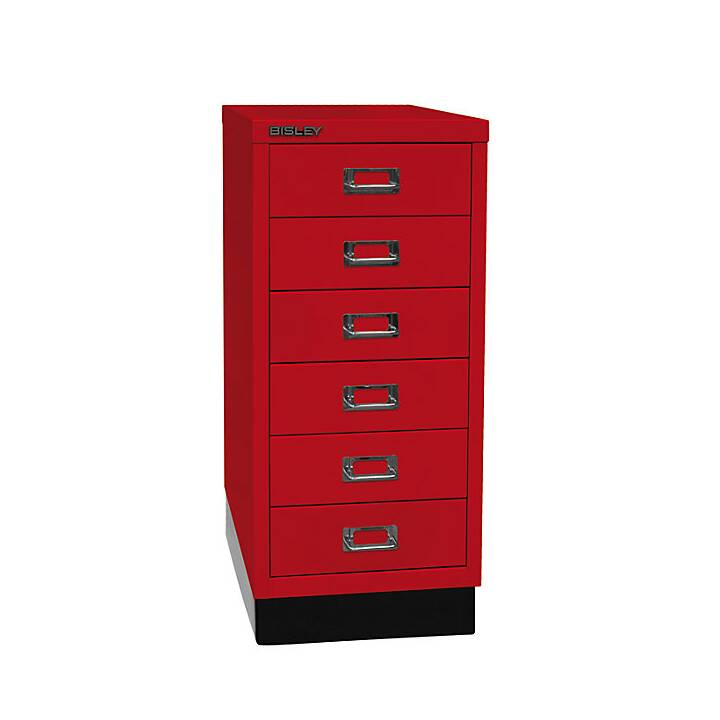 BISLEY MultiDrawer Schubladenbox (A4, Rot)
