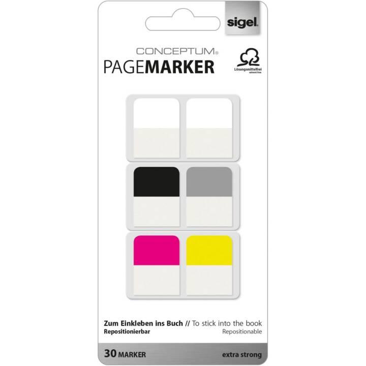 SIGEL Pagemarker 20x26mm 30 feuilles