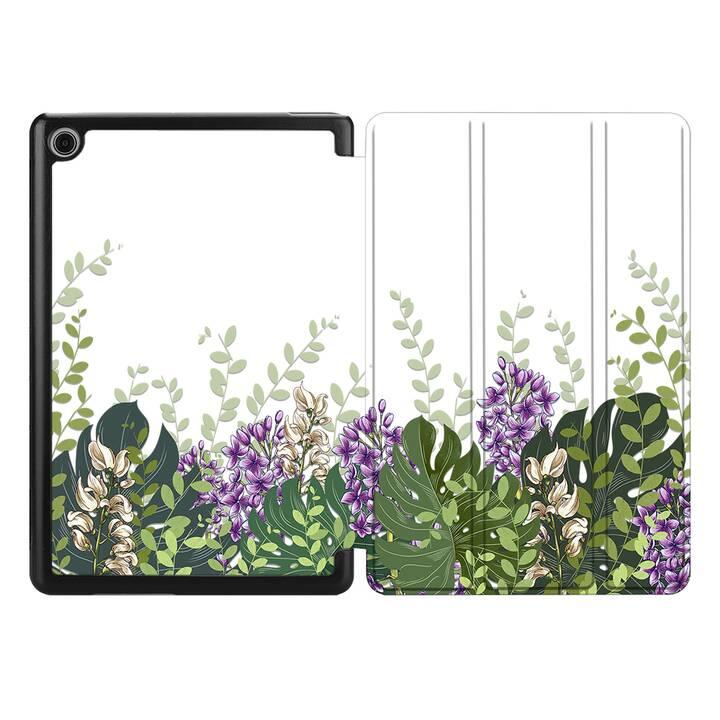 "EG MTT Coque pour HUAWEI MediaPad M5 8.4"" 2018 - fleur"
