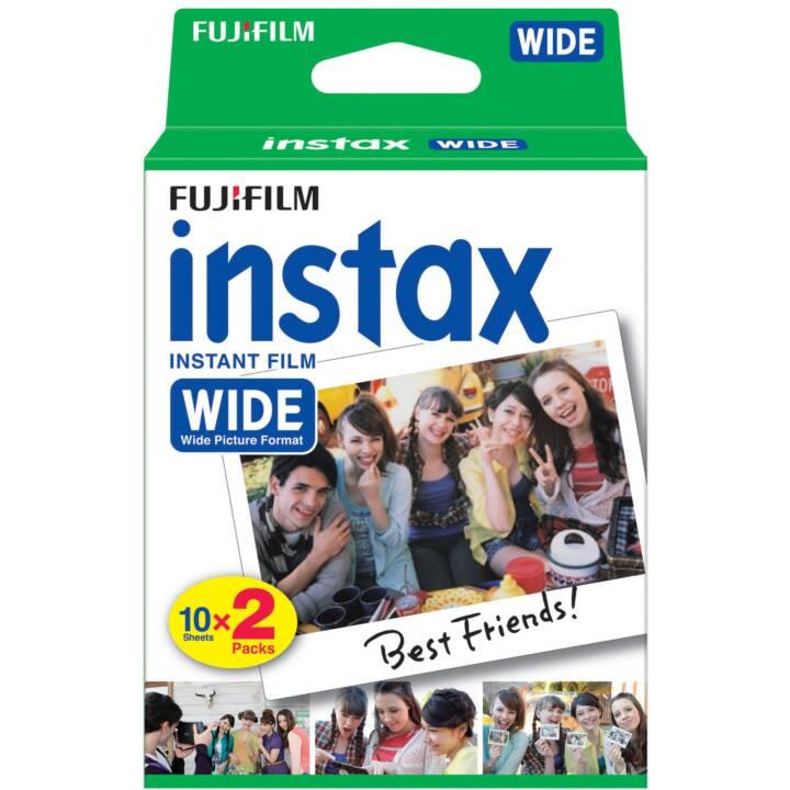 FUJIFILM Instax Wide Farbfilme 2x 10 Blatt