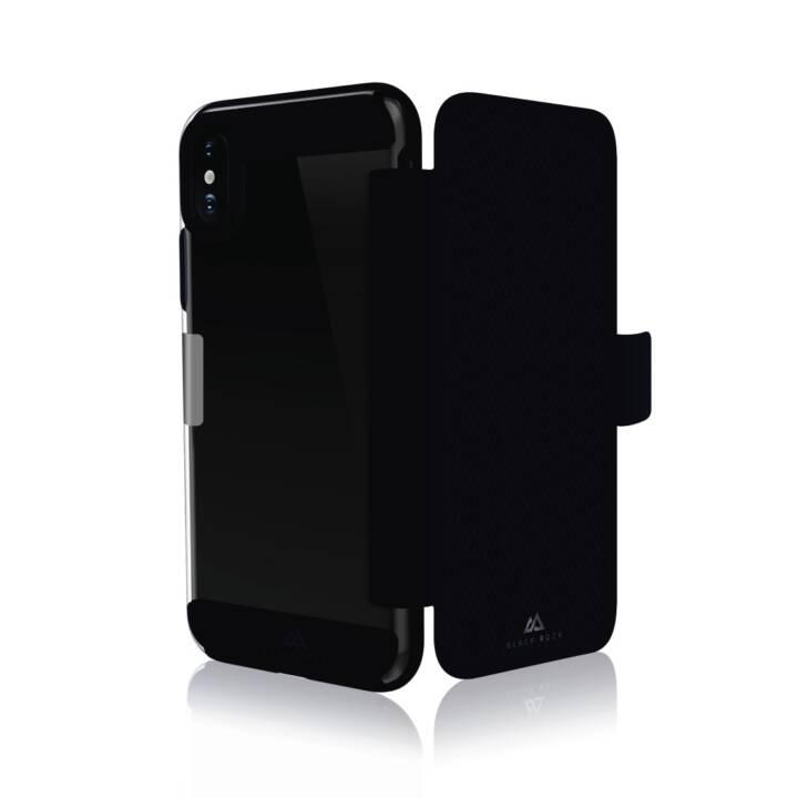 """Portefeuille ROCK NOIR """"Air Business Folio"""" pour Apple iPhone X/Xs"""