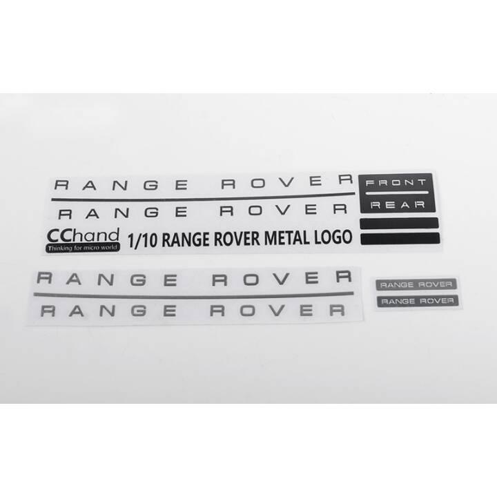 RC4WD Metal Emblem 1/10 Range Rover Classic Diversi (Nero, Bianco)