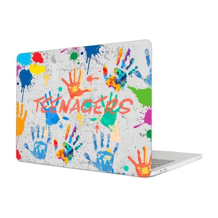 "EG MTT Hülle für Macbook Pro 13"" CD-ROM (2008 - Anfang 2012) - Graffiti"