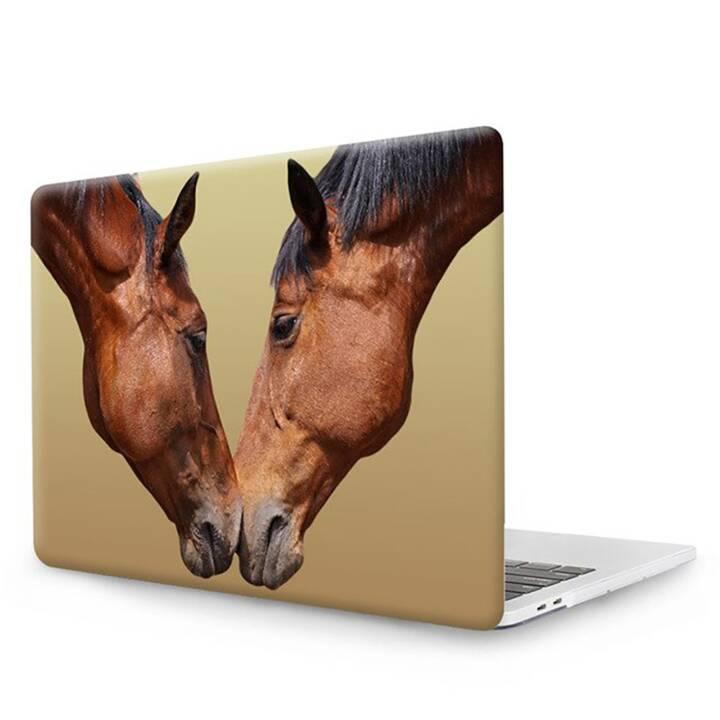 """EG MTT Cover pour MacBook Pro 15"""" Touch Bar - Chevaux"""