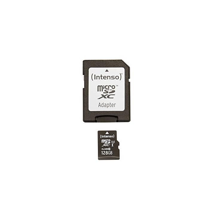 Scheda di memoria microSDXC UHS-I INTENSO 128GB microSDXC UHS-I