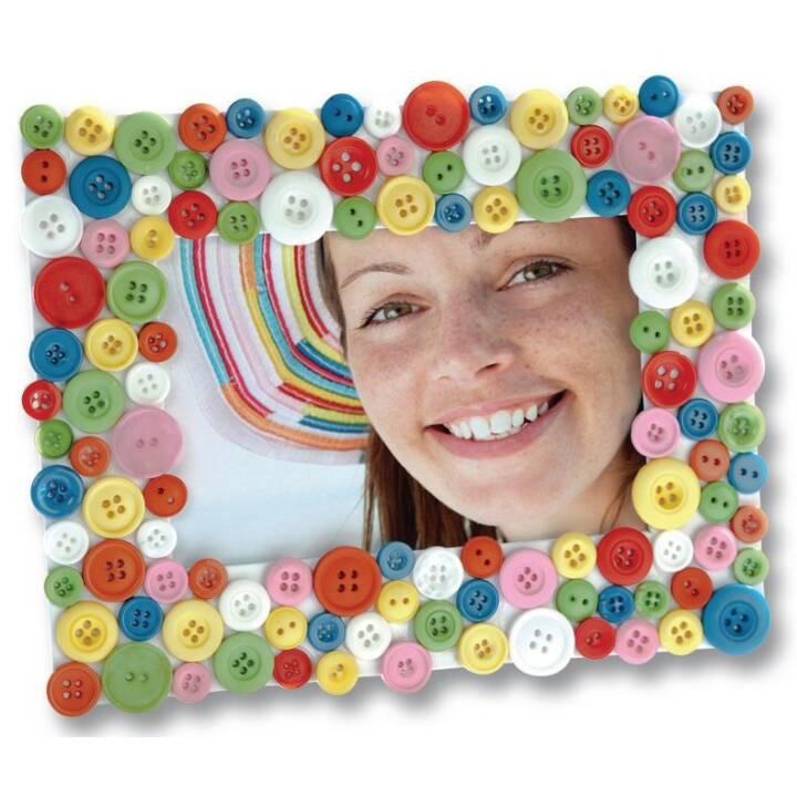 FOLIA bouton mélange ton sur ton de couleur