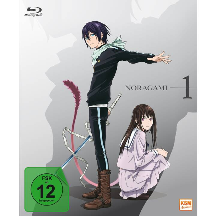 Noragami - Volume 1: Folgen 01-06 (JA, DE)