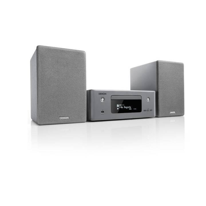 DENON CEOL N11DAB (Grigio, Bluetooth, WLAN, CD, Servizio di streaming, Internet, Radio)