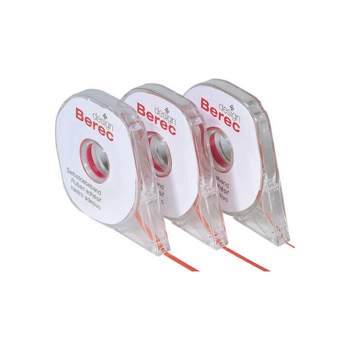 Bande de séparation BEREC 2,5 mm x 16 m, rouge