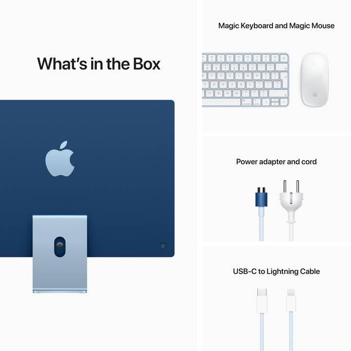 "APPLE iMac Retina 4.5K 2021 (24"", Apple M1 Chip, 16 GB, 1 TB SSD)"