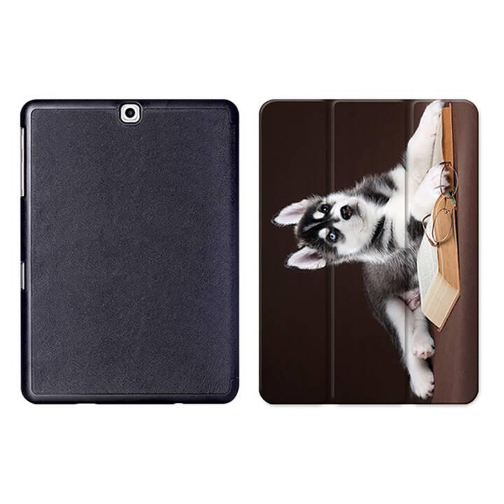 """EG MTT Sacoche à comprimés avec housse pliable Smart pour Samsung Galaxy Tab S2 9.7"""" - Dog Tablet"""