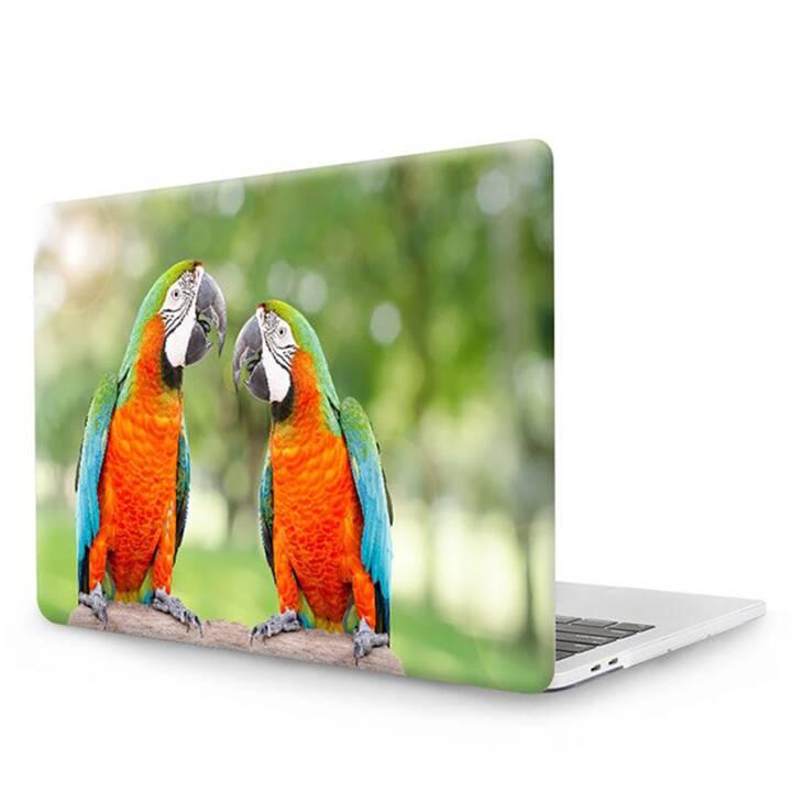 "EG MTT Cover pour MacBook Pro 13"" CD ROM - Perroquets"
