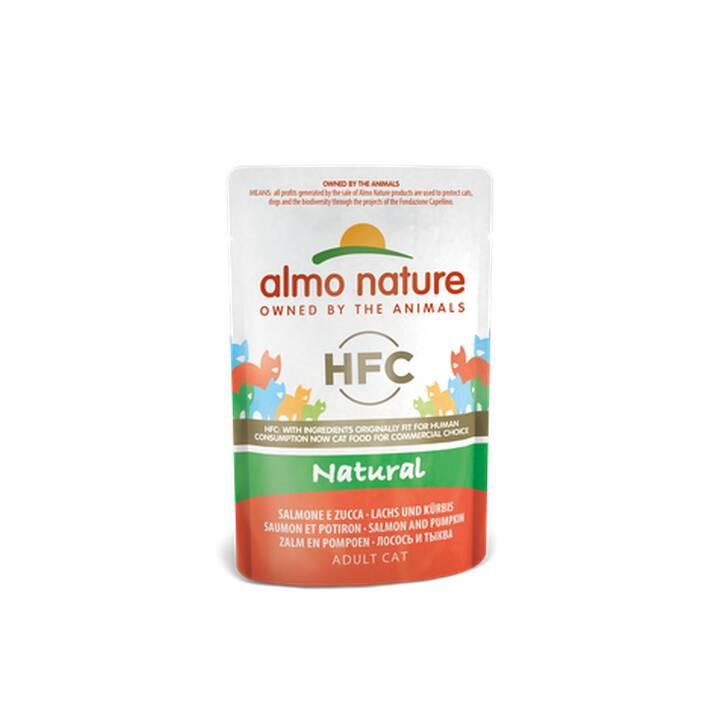ALMO NATURE HFC Natural (Adulto, 55 g, Salmone, Zucca)