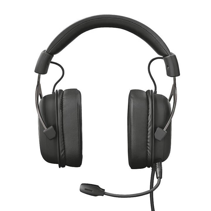 TRUST GXT 414 (On-Ear, Schwarz)