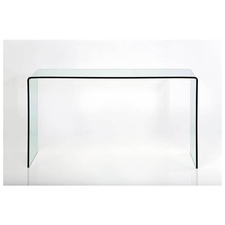 KARE Clear Club Konsolentisch (90 cm x 120 cm x 30 cm)