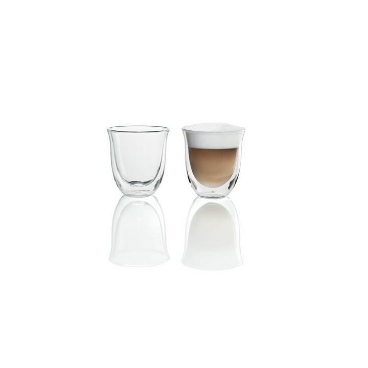 DELONGHI Cappuccino Gläser Set (190 ml)