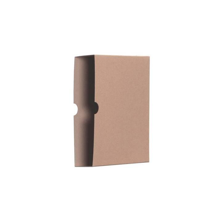 Cartella archivio casse BIELLA, A4, marrone