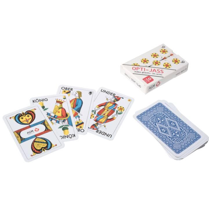 AGMÜLLLER Cartes Jass, 36 cartes