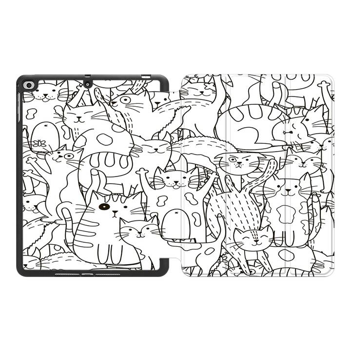 "EG MTT Coque pour Apple iPad Pro 2018 12.9"" - Cartoon"