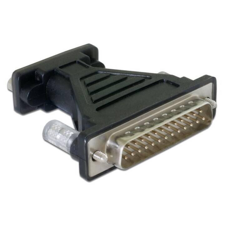 DELOCK 61308 Cavo USB (DB9, DB25, Spina USB 2.0)