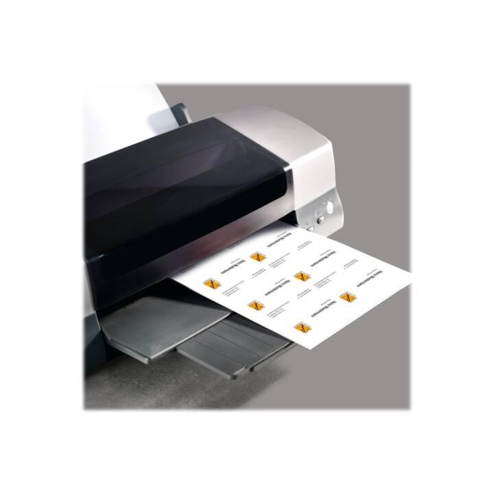 SIGEL Visitenkarten Marmor Grau 85 x 55 mm - 100 Stück