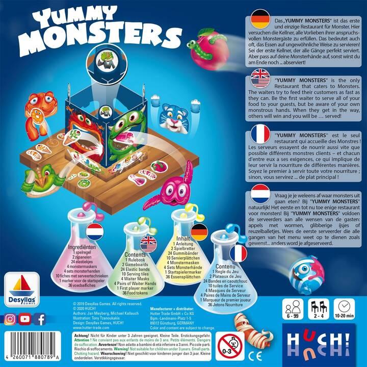 HUCH! Yummy Monsters (DE, FR, EN)