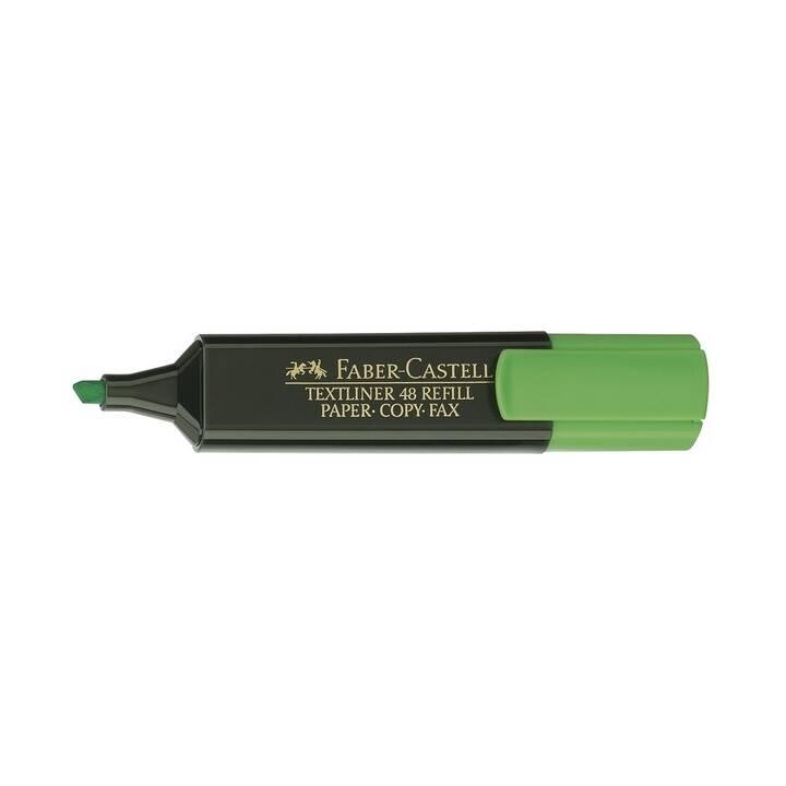 FABER-CASTELL Textmarker (Grün, 1 Stück)